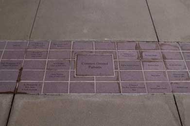 Donor recognition paver at St. John's picture 2